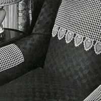 Chair #7774-B ~ Free Vintage Crochet