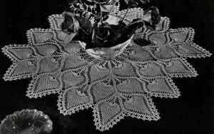 Square Centerpiece #7776-A ~ Free Vintage Crochet