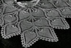 Pineapple Tablecloth Crochet Pattern Free Pineapple Crochet