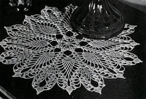 Doily #7778 ~ Free Vintage Crochet