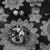 Luncheon Set #7779 ~ Free Vintage Crochet