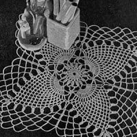 Cloverleaf Doily ~ Free Vintage Crochet