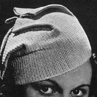 Plaited Fez #25 ~ Free Vintage Crochet