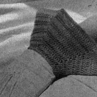 Petal Cuffs Pattern ~ Free Vintage Crochet