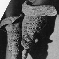 Sport Glove ~ Free Vintage Crochet