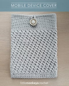 Mobile Device Cover ~ Little Monkeys Crochet