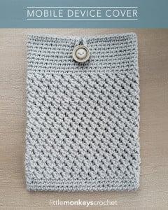 Mobile Device Cover ~ Little Monkeys Crochet