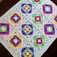 Optical Illusion Baby Blanket ~ Stitch11