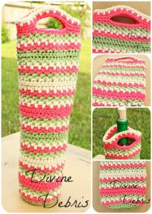Willow Bottle Cozy ~ Divine Debris