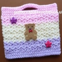 Little Girl's Bag ~ Patterns For Crochet