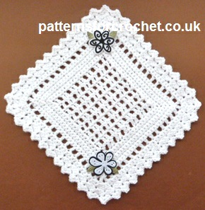A Pretty Doily ~ Patterns For Crochet