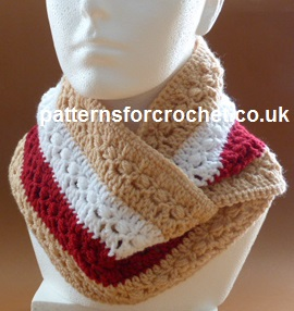Autumn Cowl ~ Patterns For Crochet