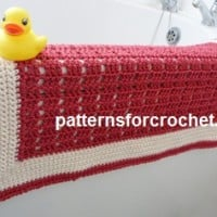 Small Bathroom Rug ~ Patterns For Crochet