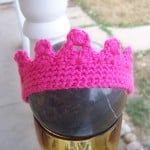Size 0-3 Month Princess Crown ~ Stitch11