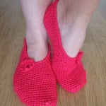 Crochet Slippers ~ Made By Joanne