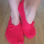 Crochet Slippers ~ Made By Joanne