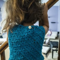 Keiki Top ~ Crochet Kitten