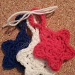 Star Shaped Face Scrubbies with Strap ~ Niki Wyre - cRAfterChick.com