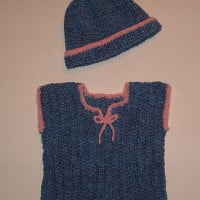 Newborn Baby Sweater Vest ~ My Recycled Bags