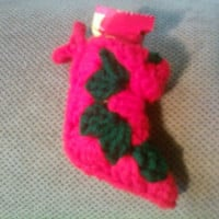 Candy Stocking Ornament ~ iYarny
