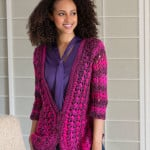 Lacy Cardigan ~ Annette Stewart – Red Heart Yarns