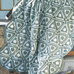 Angular Granny Throw ~ Joyce Nordstrom - Red Heart