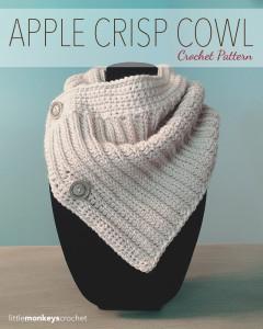 Apple Crisp Cowl ~ Rebecca Langford - Little Monkeys Crochet