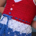 Child's Beach Grass Tank Top ~ The Evergreen Shore - Cre8tion Crochet