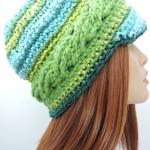 Braided Brim Beanie ~ Kim Guzman - CrochetKim