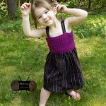 Upcycled Button Down Dress ~ Sonya Blackstone - Cre8tion Crochet