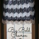 Big Bold Chevron Curtain ~ Moogly