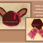 Children's Chihuahua Hat and Scarf ~ Sara Sach – Posh Pooch Designs
