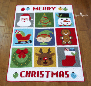 Christmas Character Afghan ~ Repeat Crafter Me