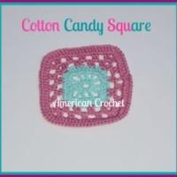 Cotton Candy Square ~ American Crochet