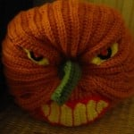 Scary Halloween Pumpkin ~ Crochet Parfait