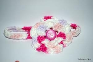 Chain-Less Foundation Headband ~ Elisabeth Spivey - Calleigh's Clips & Crochet Creations