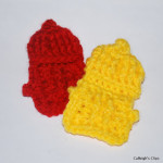 Fire Hydrant Applique ~ Elisabeth Spivey – Calleigh's Clips & Crochet Creations