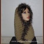 Fur Trimmed Cowl ~ Sara Sach – Posh Pooch Designs