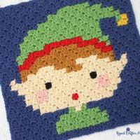 Crochet Elf Pixel Square ~ Repeat Crafter Me