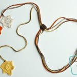 Falling Leaves Necklace ~ Divine Debris
