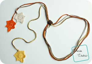 Falling Leaves Necklace ~ Divine Debris