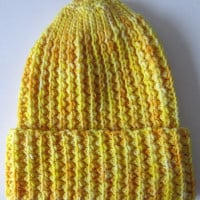 Faux Mistake Rib Watchman's Cap ~ Marie Segares – Underground Crafter