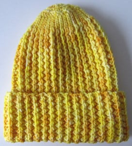 Faux Mistake Rib Watchman's Cap ~ Marie Segares - Underground Crafter