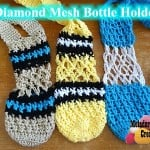 Diamond Mesh Bottle Holder ~ Meladora's Creations