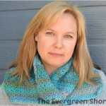 Flip Your Collar Cowl ~ Krista Short/The Evergreen Shore - Cre8tion Crochet