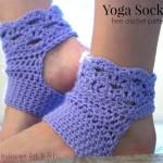 Perfect Harmony Yoga Socks ~ Lisa Jelle – Cre8tion Crochet