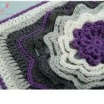 Spinning Deca-Petal Flower Tile Granny Square ~ Lisa Egan – Cre8tion Crochet.