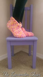 Cloud 9 Slippers ~ Dorianna Rivelli - The Lavender Chair