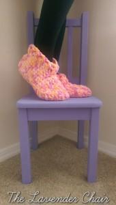 Cloud 9 Slippers ~ Dorianna Rivelli - The Lavender Chair