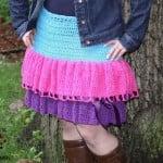 Kelli's Favorite Skirt ~ Sick 'Lil Monkeys – Cre8tion Crochet